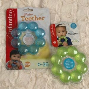 Set of Two water teethers